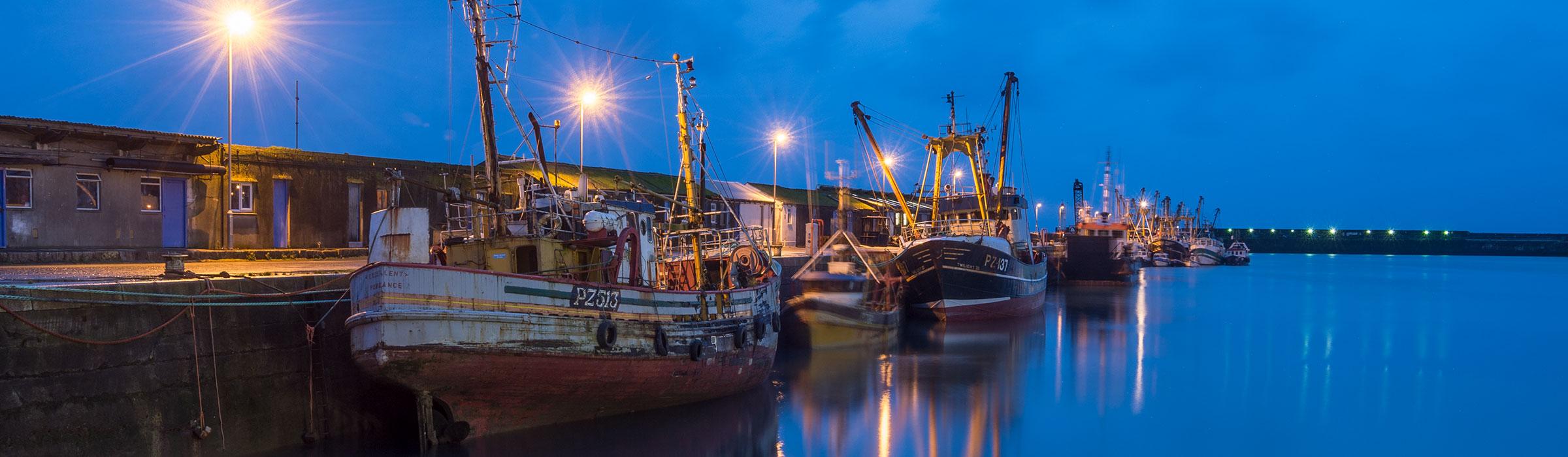 Fotoreise Cornwall Schiffe