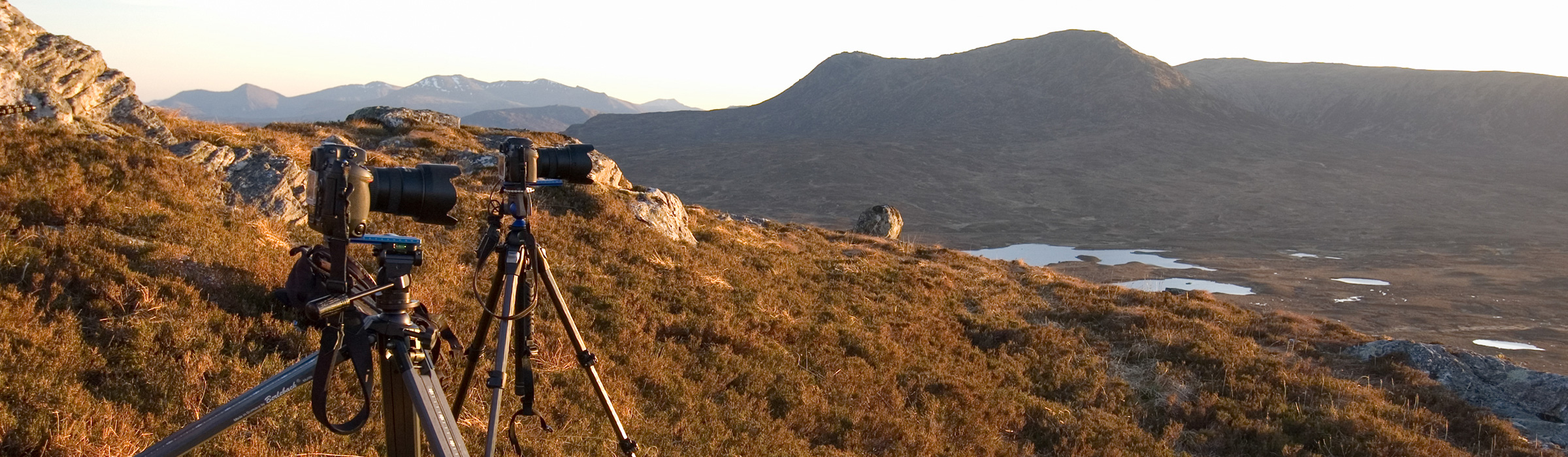 Zeitrafferfotografie in Schottland