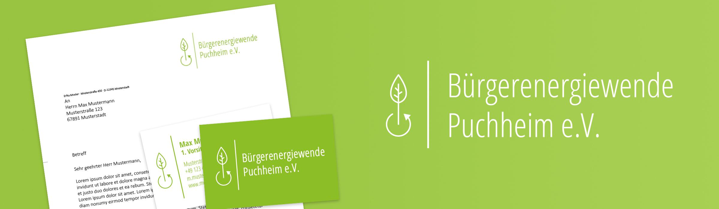 Druckerzeugnisse für die Bürgerenergiewende Puchheim