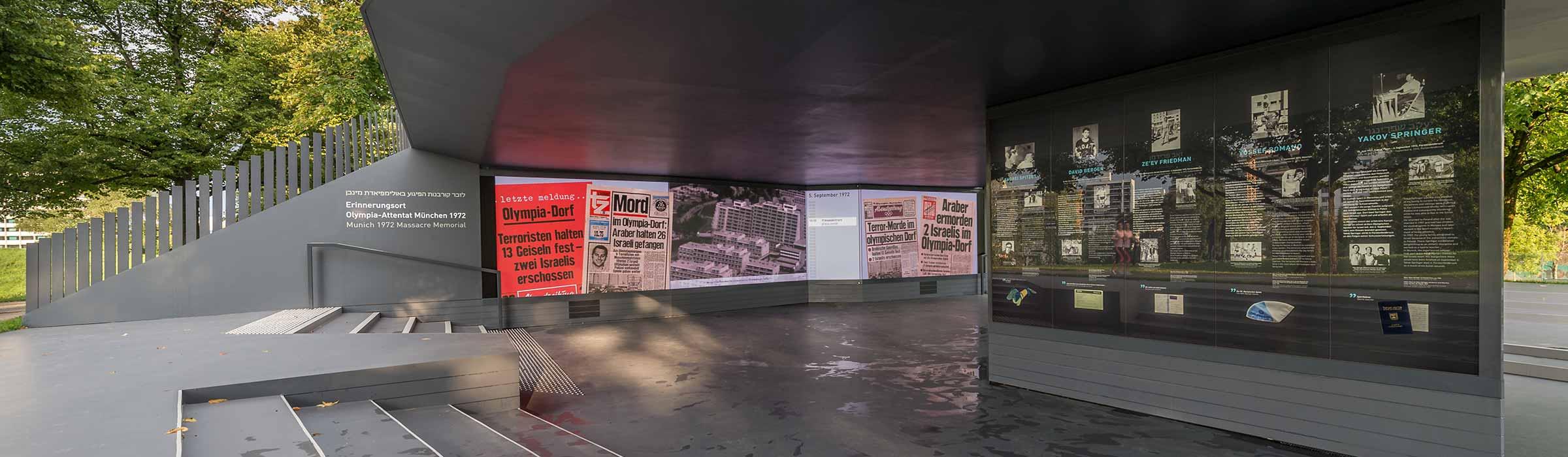 Erinnerungsort Olympia-Attentat München 1972