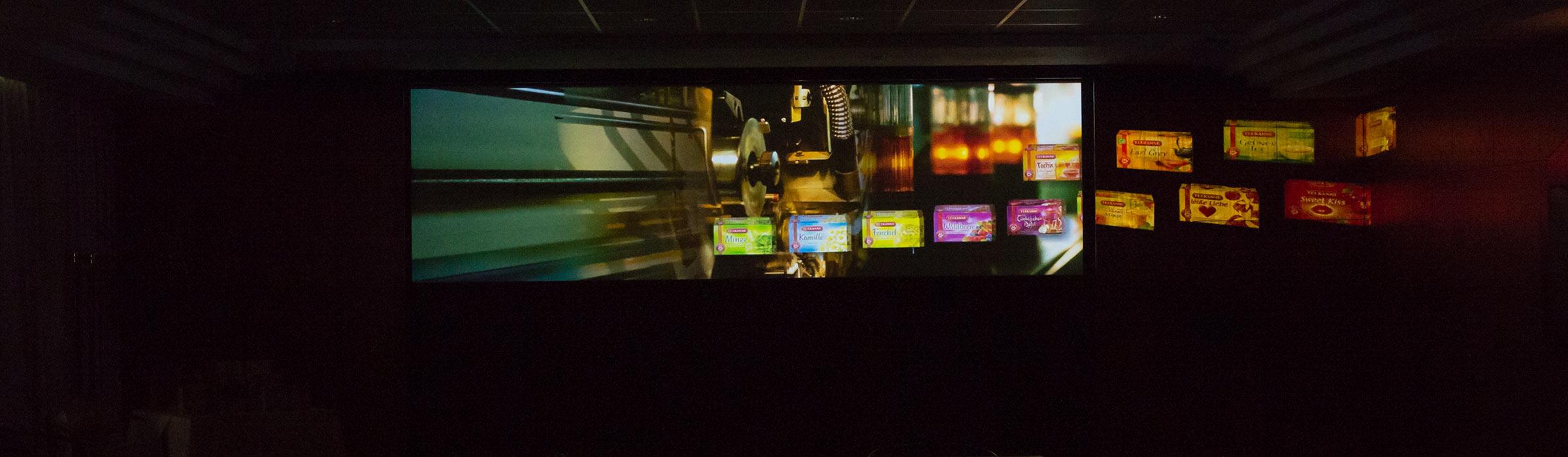 Digitalisierung zweier Dia-Schauen für Teekanne